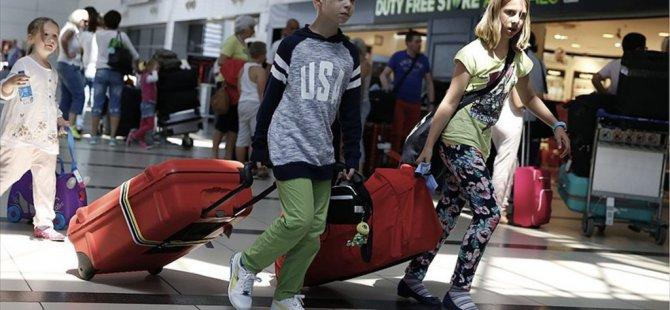 Türkiye'ye ziyarette Turizmde Ruslar Yine İlk Sırada