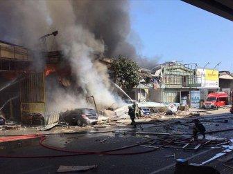 Samsun'un Canik ilçesinde korkutan patlama