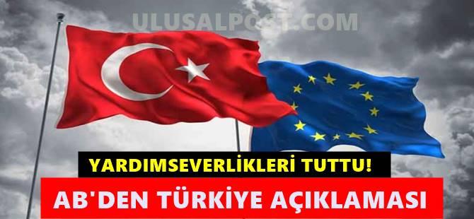 Ab'den kritik Türkiye açıklaması geldi ; Dayanışmaya hazırız