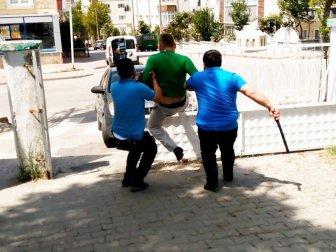 Samsun'da İmama ve Cemaate Saldırdı