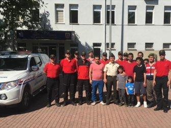 Katarlı Mansouri Ailesi Jak'a Teşekkür Ziyareti gerçekleştirdi