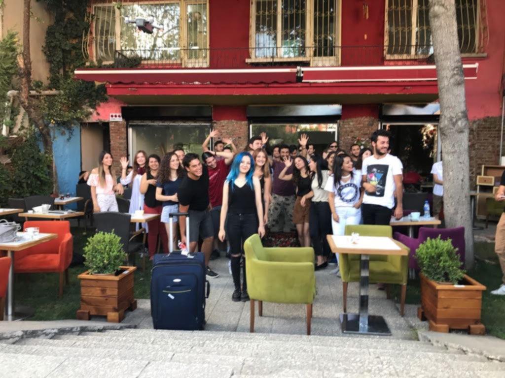 Ankara'da Gezginler Interrail Kafe açtı