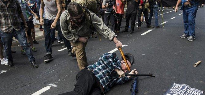 Abd'deki Irkçı Gösteriler 'Aralıksız' Sürecek