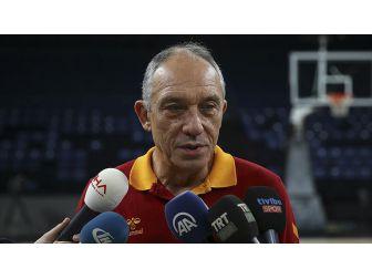 Galatasaray Odeabank Başantrenörü Kunter: Galatasaray'da Hedefler Her Zaman Yüksektir