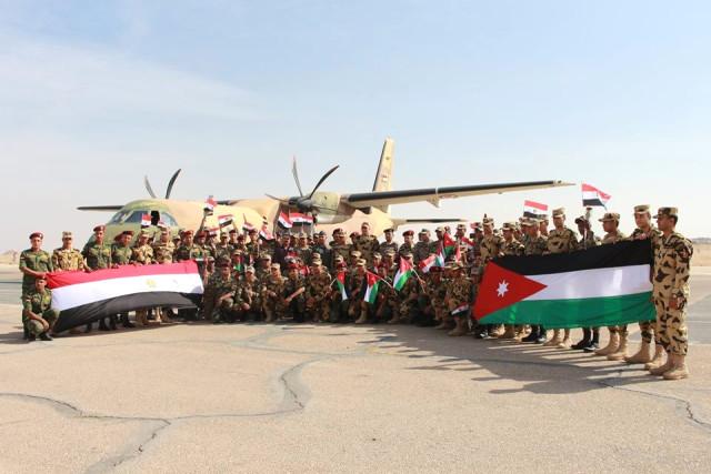 Ürdün'le Mısır Arasında Askeri Tatbikat