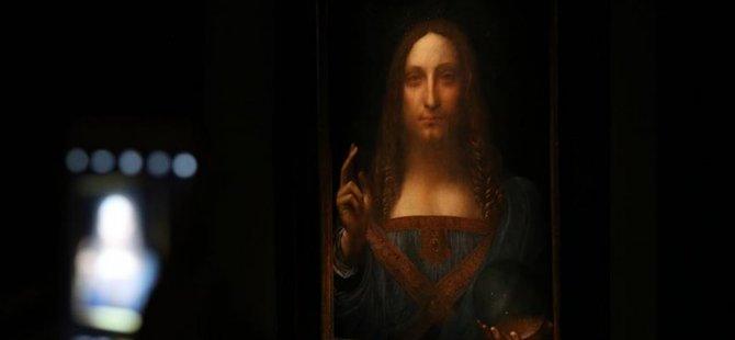 Leonardo Da Vinci'nin 'Salvator Mundi' Tablosuna şok fiyat
