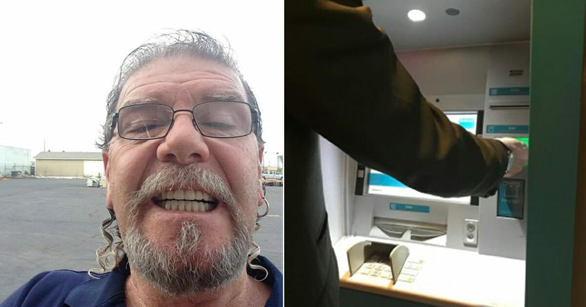 ATM'den para çekerken tuhaflığı gördü –Hemen bankaya girip Gerekeni Yaptı.