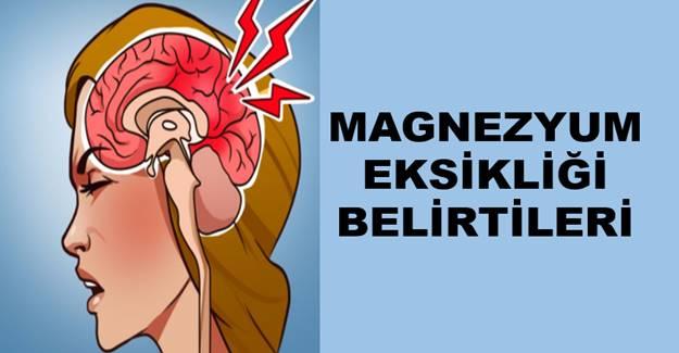 Acilen Magnezyum Takviyesine İhtiyacınız Olduğunuzun belirtileri