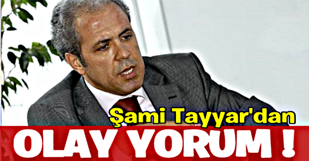 Şamil Tayyar'dan 697 sayılı KHK yorumu: Bu Mor Beyin bana masum gelmiyor