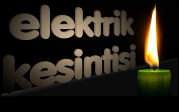 Mardin, Kızıltepe ve Artuklu'da İlçesinde Elektrik Kesintisi