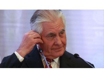 Görevden Alınan Abd Dışişleri Bakanı Tillerson'dan İlk Açıklama