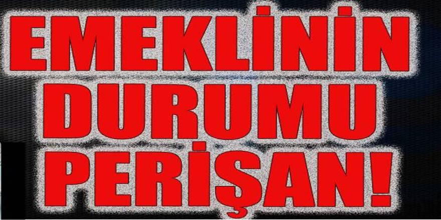 Türkiye'nin son 5 yılda yüzde 17 artan yaşlı nüfusu emekli maaşıyla geçinemiyor