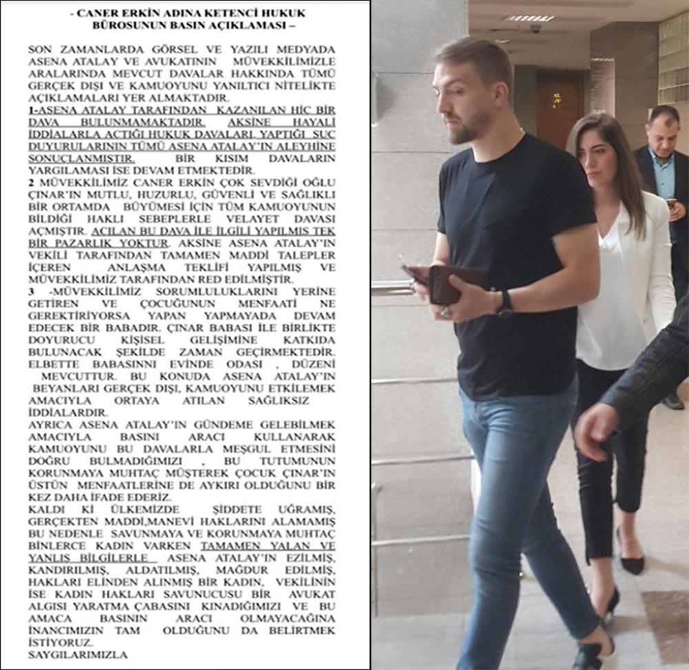 Gerilim Büyüdü! Caner Erkin'den flaş Asena Atalay açıklaması