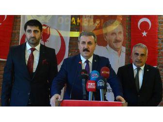 Bbp Genel Başkanı Destici: Türkiye Herkesin Hakkını Savunuyor