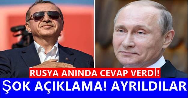 Haçlı'nın Suriye Saldırısı Sonrası Türkiye - Rusya İlişkilerinde şok iddia! Ne oluyor?