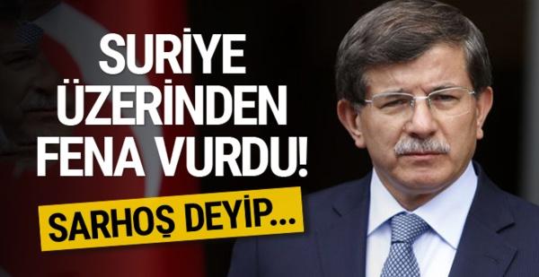 Ahmet Hakan adaşı Ahmet Davutoğlu'nu Fena Tiye Aldı...