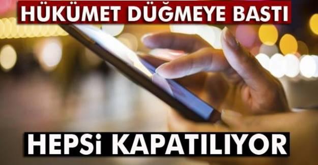 Erdoğan talimat vermişti: Hepsi kapatılıyor