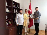 Büyükelçi Tülin Erkal Kara'ya Ulusal Post ziyareti