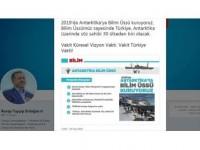 Erdoğan'dan Antarktika'da Bilim Üssü Paylaşımı