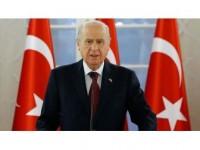 Mhp Genel Başkanı Bahçeli: Çiller'in Büyük İstanbul Mitingi'ne Katılması Çok Anlamlı