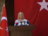15 Temmuz anmasında konuşan Üsküp Büyülelçisi Tülin Erkal Kara'dan Fetö ile mücadele çağrısı
