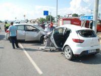Edirne, İpsala'da Trafik Kazası: 4 Yaralı