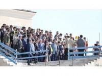 Erdoğan Çamlıca Camisi'nde İncelemelerde Bulundu