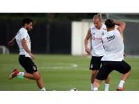 Beşiktaş'ta Vida Çalışmalara Başladı