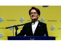 İyi Parti Genel Başkanlığı'na Akşener Yeniden Seçildi