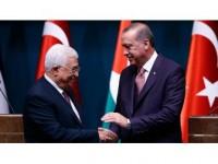 Cumhurbaşkanı Erdoğan, Mahmud Abbas İle Telefonda Görüştü