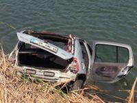 Uşak, Banaz'da Otomobil Gölete Uçtu, 4 Kişi Boğularak Hayatını Kaybetti