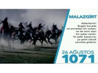 Tsk'dan 'Malazgirt'ten Kocatepe'ye' Videosu