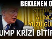 Trump krizi bitirdi! Anlaşma tamam