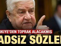 Hadsiz sözler: Türkiye'den toprak alacakmış