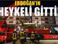 Almanya'daki Dev Erdoğan heykeli kaldırıldı!