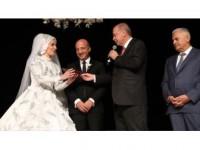 Cumhurbaşkanı Erdoğan İle Tbmm Başkanı Yıldırım, Düğüne Katıldı