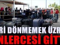 Türkiye'den Suriye'ye binlerce kişi akın akın geri dönüyor