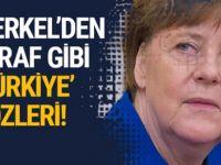 Almanya Başbakanı Merkel'den Kafa Karıştıran Sözler!