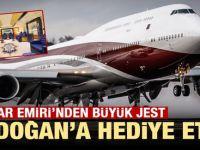 Katar Emiri'nden Erdoğan'a büyük jest! Görenlerin dudakları uçukladı