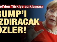 Almanya Medyası Flaş geçti : Merkel'den Türkiye açıklaması