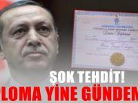Erdoğan'ın diplomasını araştıran parti liderine TEHDİT!