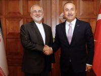 Çavuşoğlu, İranlı Mevkidaşı Zarif İle Görüştü