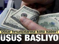 Dolarda Sert Çakılmalar!