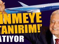 Meksika lideri lüks uçağını satıyor!