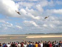 TEKNOFEST'te Helikopterler Gökyüzünde Harmandalı Oynadı