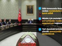 Milli Güvenlik Kurulu Bildirisinde 'İdlib' Vurgusu