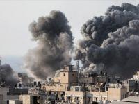 İsrail Ordusu Gazze'nin Doğusuna Hava Saldırısı Düzenledi