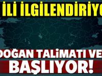 Erdoğan net konuştu! '81 il ve ilçelerin hepsinde olacak'