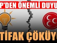 SON DAKİKA: MHP'den flaş Cumhur İttifakı çıkışı