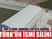 CHP'li vekil ortaya çıkardı : Atatürk'ün ismini siliyorlar